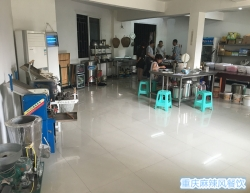 烤鱼培训操作室