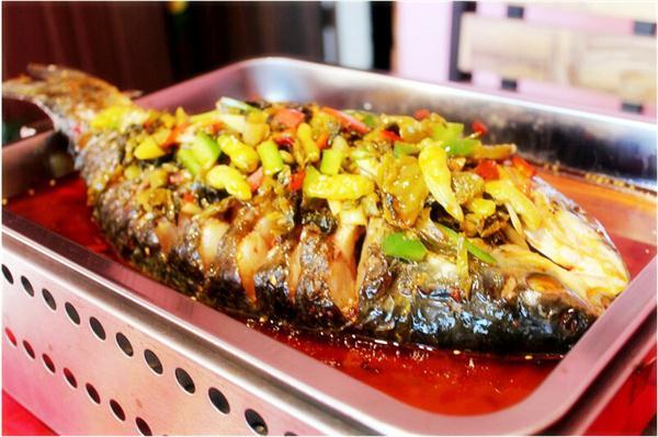 重庆酸菜烤鱼