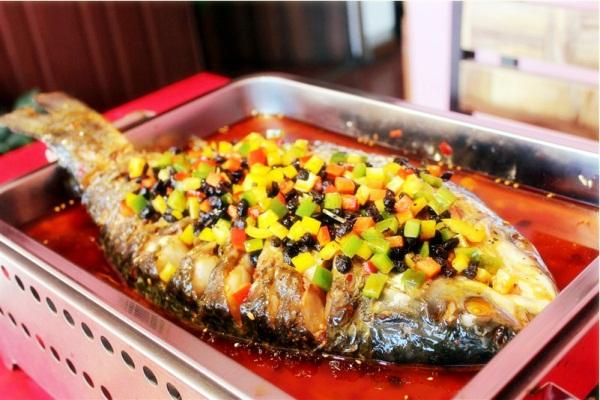重庆豆豉烤鱼